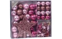 [Sada 45 ks vánočních dekorací na vánoční stromek - různé barvy]