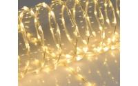 [LED světelný řetěz s průsvitným kabelem]
