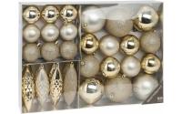 [Sada 31 ks plastových vánočních koulí - různé barvy]