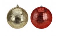 [Vánoční koule velká 10 cm - 2 barvy]