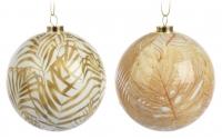 [Elegantní vánoční koule 8 cm - různé druhy]