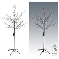 [Svíticí LED strom 150 cm s napájením na baterky a časovačem - 2 barvy]