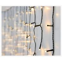 [LED světelný závěs rampouchový se světelnými efekty - různé barvy a velikosti]