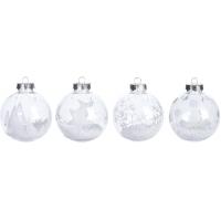 [Vánoční koule se sněhovými bublinkami - různé druhy]