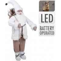 [Santa s LED světýlky 133 cm]
