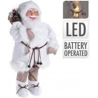 [Santa s LED světýlky 57 cm]