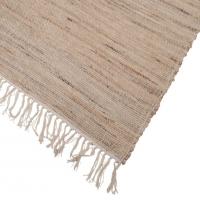 [Indický koberec z bavlny a juty 120x180 cm]