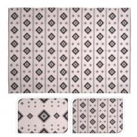 [Indický bavlněný koberec s orientálním vzorem]