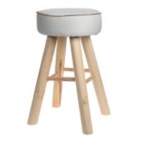 [Židle LAVA ze dřeva a juty]
