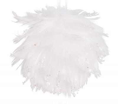 Andělská vánoční koule bílá RAFAEL
