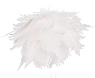 Andělská vánoční koule bílá MICHAEL