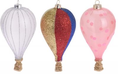 Barevný balón ze skla - 3 druhy